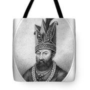 Nadir Shah (1688-1747) Tote Bag
