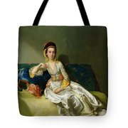 Nancy Parsons In Turkish Dress Tote Bag