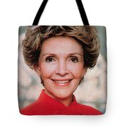 Nancy Reagan, 40th First Lady Tote Bag by Photo Researchers