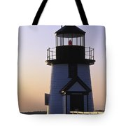 Nantucket Brant Point Lighthouse Tote Bag