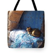 Nap After The Meal Tote Bag