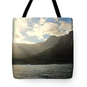 Napali Coast Sunrise Tote Bag