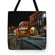 Napanee After Midnight Tote Bag