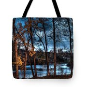 Napanee River At Dawn Tote Bag