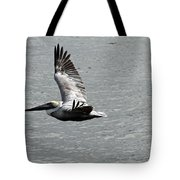 Naples Florida Pelican On The Prowl Tote Bag