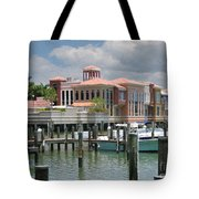 Naples Scene Tote Bag