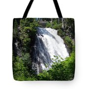 Narada Falls Through The Trees Tote Bag