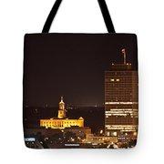 Nashville Cityscape 5 Tote Bag
