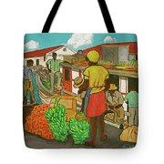 Nassau Fruit Boat Tote Bag