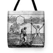 Natchez Punishment, C1725 Tote Bag