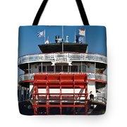 Natchez Riverboat Tote Bag