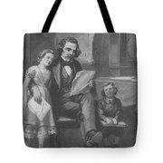 Nathaniel Hawthorne, American Author Tote Bag
