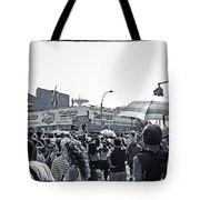 Nathan's Crowd In Coney Island 1 Tote Bag
