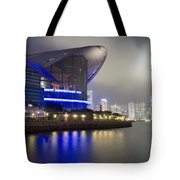 National Convention Center At Night Tote Bag