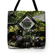 National Orchid Garden Inside The Singapore Botanic Garden Tote Bag