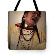Native Cheyenne Chant Tote Bag