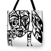 Native Man Tote Bag