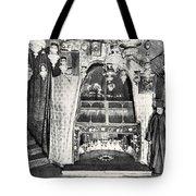 Nativity Grotto In 18th Century Tote Bag