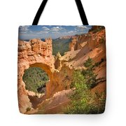 Natural Bridge In Bryce Canyon National Park Tote Bag