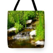 Natural Spring  Tote Bag