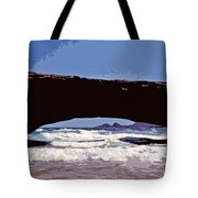 Natural Stone Bridge - Aruba Tote Bag