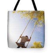 Natural Swing Tote Bag