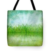 Nature And Grass On Paper Tote Bag by Setsiri Silapasuwanchai