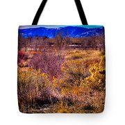 Nature At It's Best In South Platte Park Tote Bag