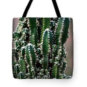 Nature's Cactus Abstract 2 Tote Bag