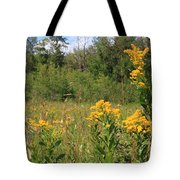 Nature's Flower Bouquet Tote Bag