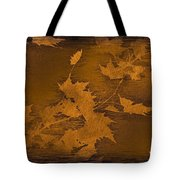 Natures Gold Leaf Tote Bag