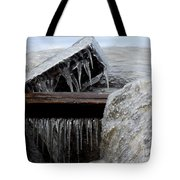 Natures Ice Sculptures 5 Tote Bag