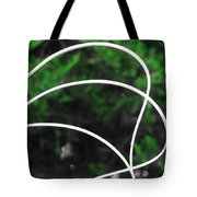 Nature's Natural Curves Tote Bag