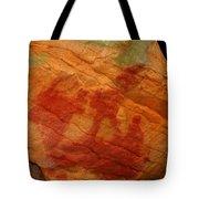 Nature's Palette In Stone Tote Bag