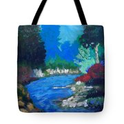 Natures Red White And Blue Tote Bag