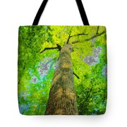Natures Skyscraper Tote Bag