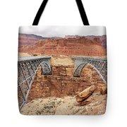 Navajo Bridge In Arizona Tote Bag