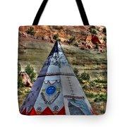 Navajo Trading Post Teepee Tote Bag