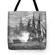 Naval Battle, 1813 Tote Bag