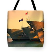 Naval Joint Ops V4 Tote Bag