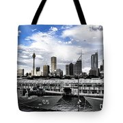 Naval Security Tote Bag