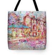 Navigli City Of Milan In Italy Portrait.1 Tote Bag