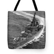 Navy: Uss Bainbridge, 1968 Tote Bag