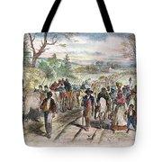Nc: Freed Slaves, 1863 Tote Bag