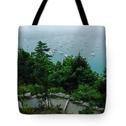 Ne Harbor Maine Seen From Thuya Gardens Mt Desert Island  Tote Bag