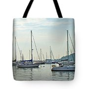Ne-mast-e    Greetings To A New Day Tote Bag