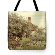 Near Hambledon Tote Bag by Helen Allingham
