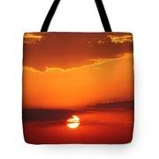 Nebraska Sunrise Tote Bag