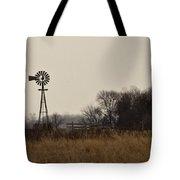 Nebraska Windmill Tote Bag