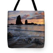 Needles Sunset Tote Bag